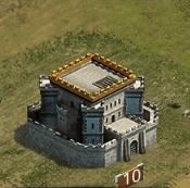 Замок 10 уровня