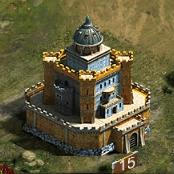 Замок 15 уровня