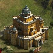 Замок 18 уровня