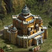 Замок 19 уровня