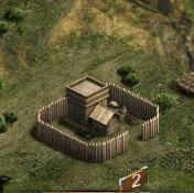 Замок 2 уровня
