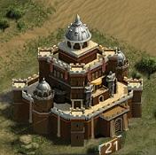 Замок 21 уровня
