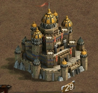 Замок 29 уровня