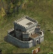 Замок 9 уровня