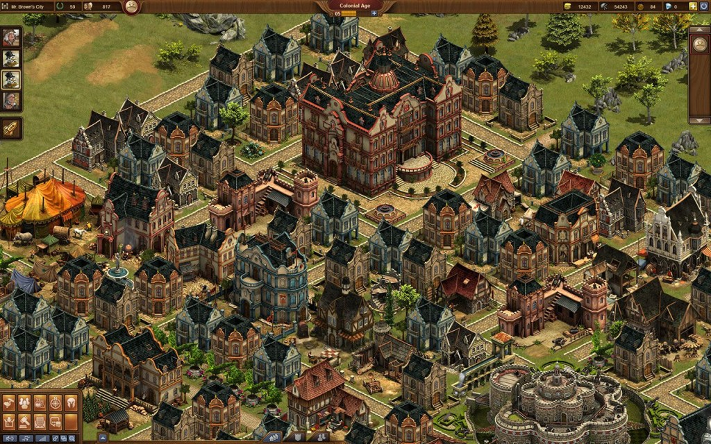 Постройки в игре Forge of Empires
