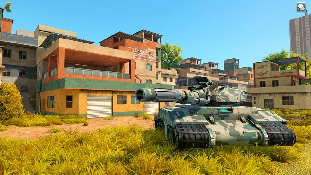Tanki X вид танка