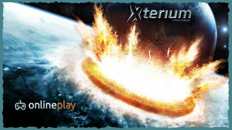 Космическая онлайн игра Xterium