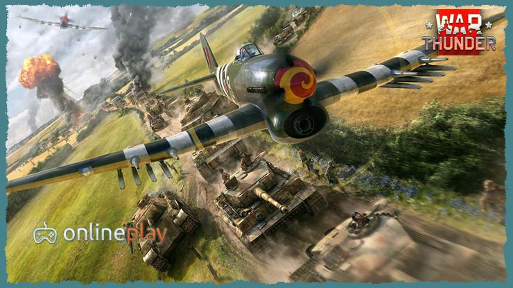 Онлайн игра War Thunder