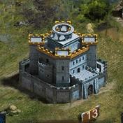 Замок 13 уровня