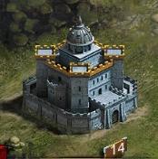 Замок 14 уровня