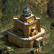 Замок 16 уровня
