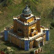 Замок 17 уровня