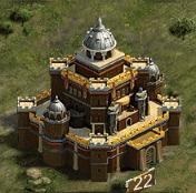 Замок 22 уровня