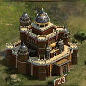 Замок 23 уровня
