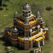 Замок 24 уровня