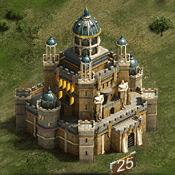 Замок 25 уровня