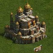 Замок 28 уровня