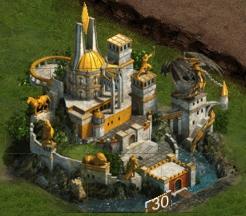 Замок 30 уровня