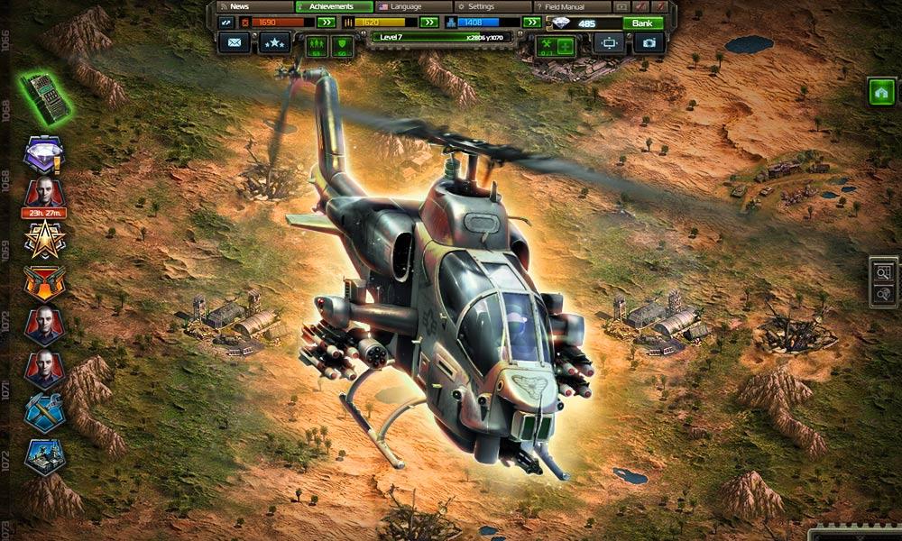 Вертолет в игре Конфликт: Искусство войны
