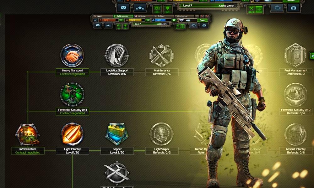 Умения в игре Конфликт: Искусство войны