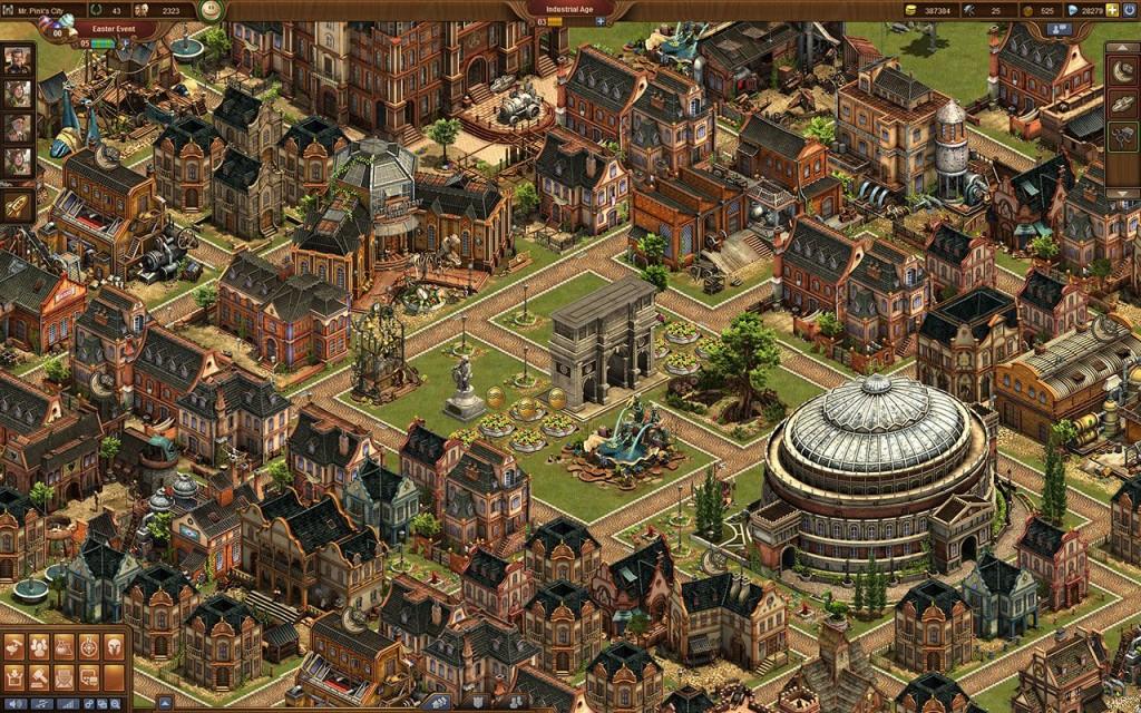 развитие в игре Forge of Empires