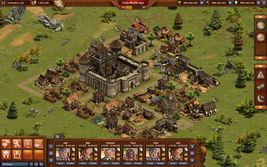 Начало развития в игре Forge of Empires