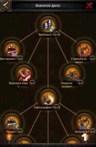 Изучение военного дела в Clash of Kings 1