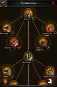 Изучение военного дела в Clash of Kings 3