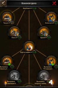 Изучение военного дела в Clash of Kings 4