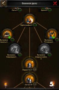 Изучение военного дела в Clash of Kings 5